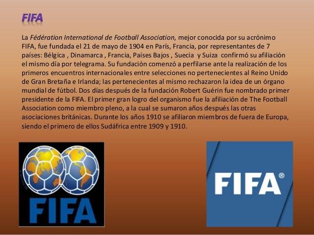 La realización de un torneo de carácter mundial en 1906 falló, mientras que el fútbol en los  Juegos Olímpicos no tenía la...