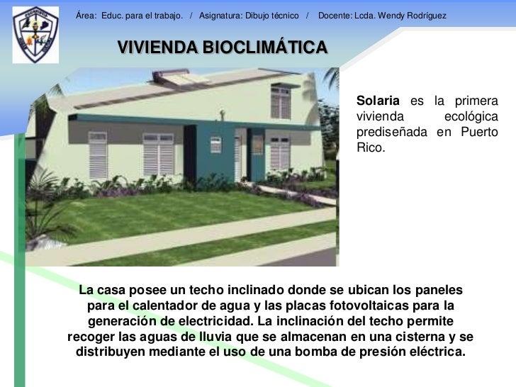 Vivienda bioclimatica for Construccion de casas bioclimaticas