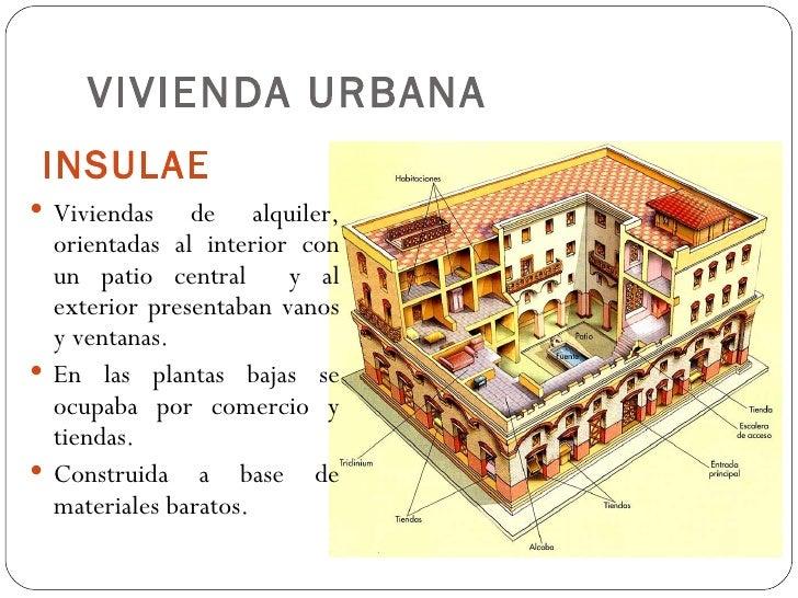Vivienda romana Como eran las casas griegas