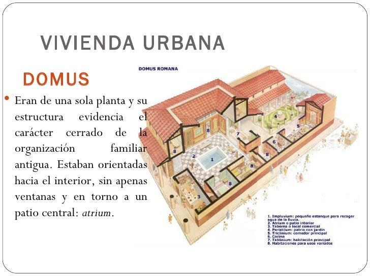 Resultado de imagen de la vivienda urbana romana antigua