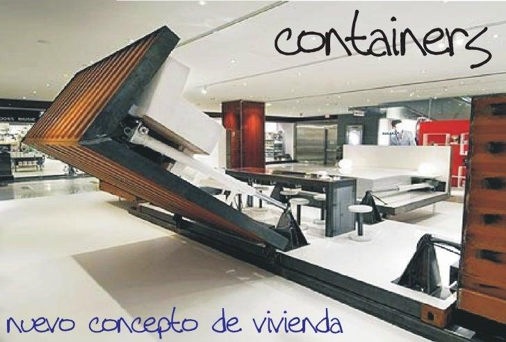 containers   nuevo concepto de vivienda