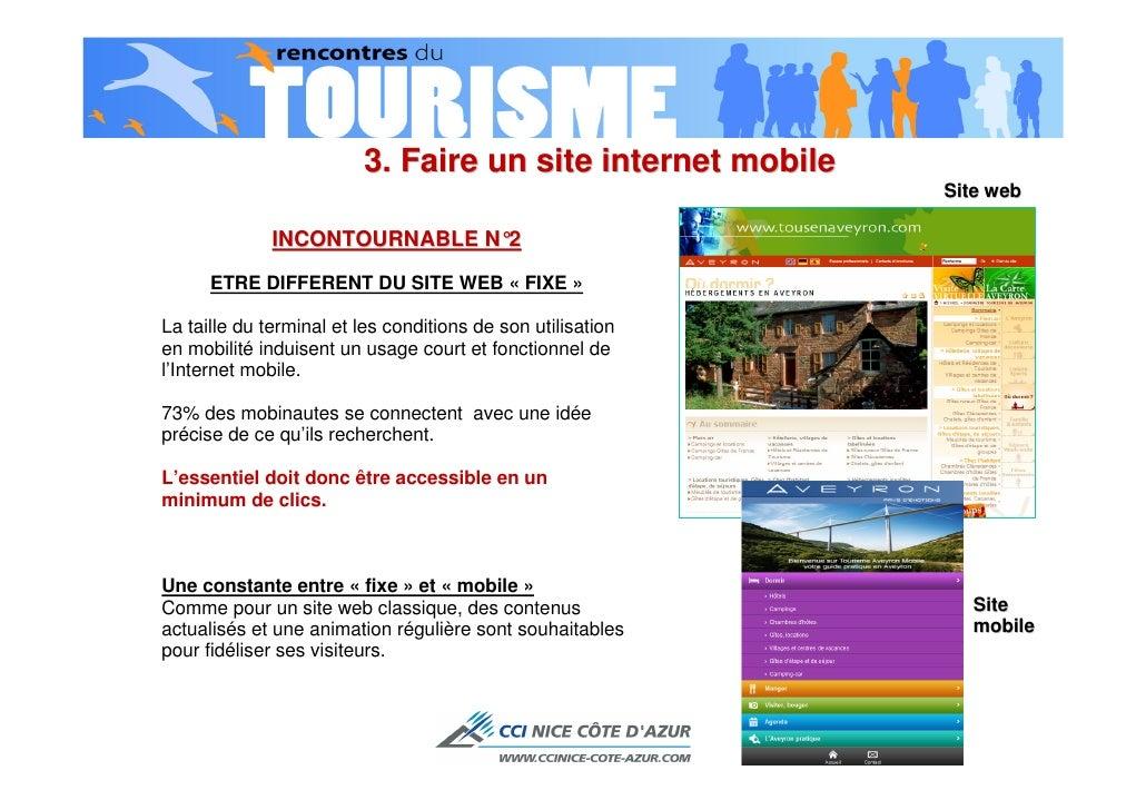 Rencontres e tourisme