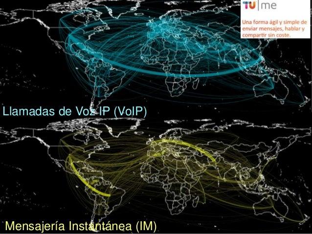 Llamadas de Voz IP (VoIP)                            16Mensajería Instantánea (IM)