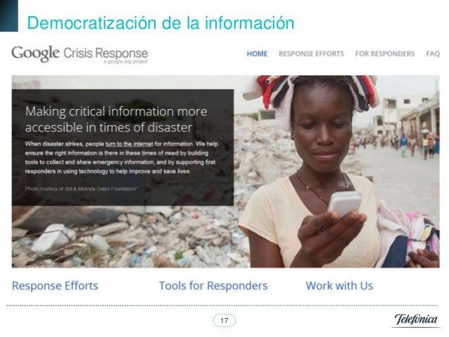 Democratización de la información                       17