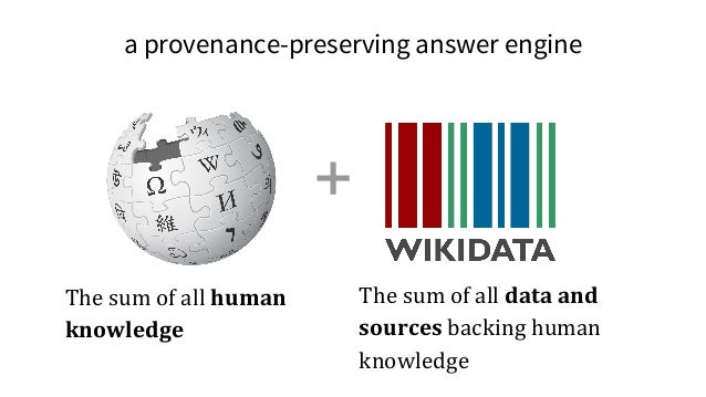 Benjamin Good (2016) Opportunities and challenges presented by Wikidata in the context of biocuration http://tinyurl.com/h...
