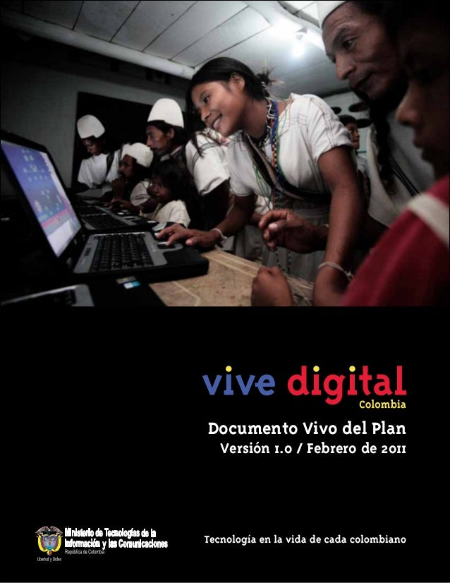 Documento Vivo del Plan Versión 1.0 / Febrero de 2011