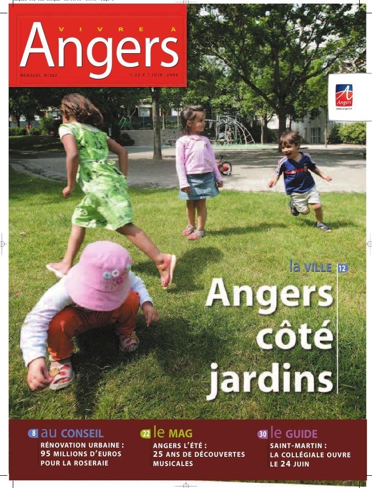 Angers                 V   I   V   R      E           À                                     1,22 € | JUIN 2006 MENSUEL N°3...