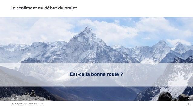 #LaDuckConf by OCTO Technology © 2019 - All rights reserved 15 Le sentiment au début du projet Est-ce la bonne route ?
