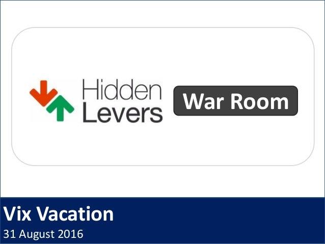 Vix Vacation 31 August 2016 War Room