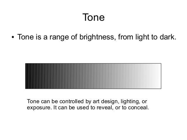 Tone Art Element : Bruce block s visual components for filmmakers
