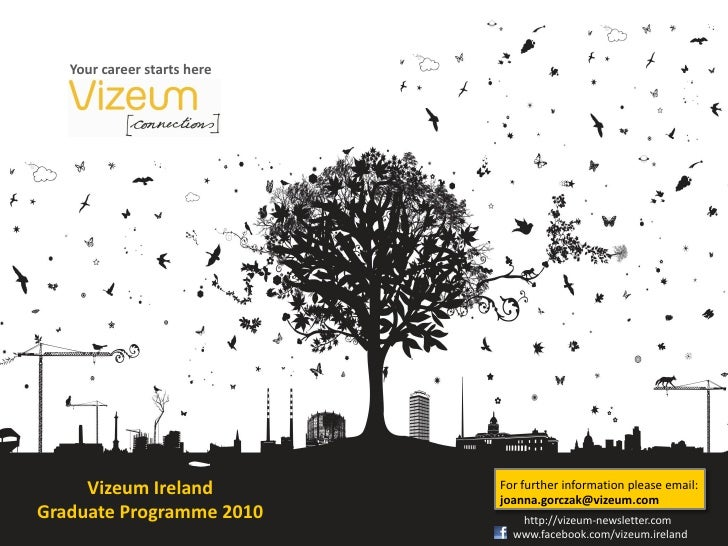 Your career starts here          Vizeum Ireland          For further information please email:                            ...