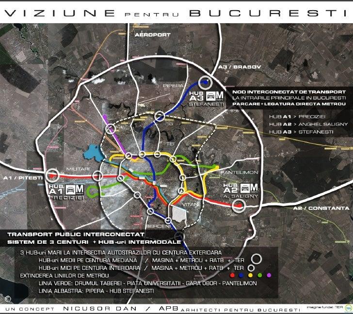 Viziune pentru rezolvarea problemelor de trafic in Bucuresti