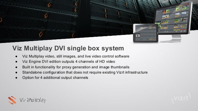 Viz multiplay product presentation