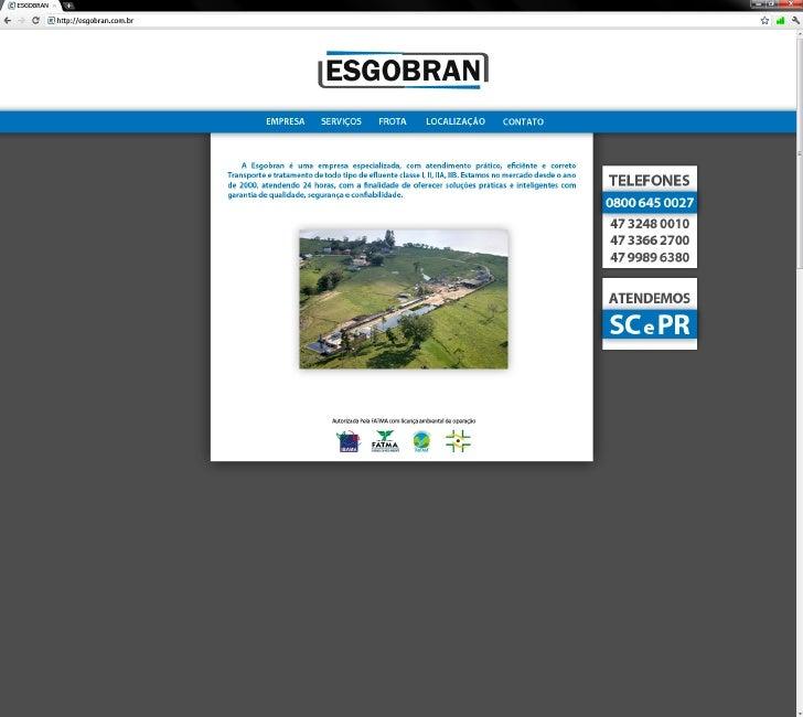 Site ESGOBRAN