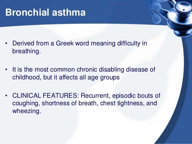 Asthma and antiasthmatics Slide 2