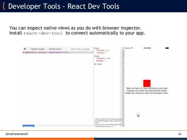 Matteo Manchi - React Native for multi-platform mobile applications -…