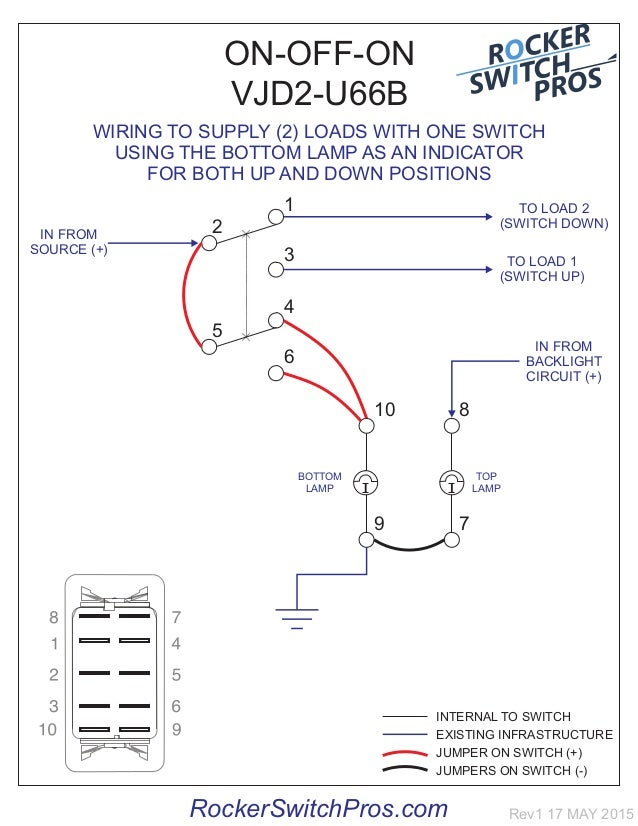 carling 3 position switch wiring diagram dpdt illuminated
