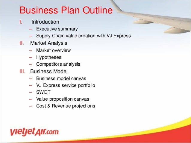 vietjet express business plan