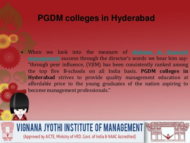 Vjim, hyderabad's students are recruiters' favourite Slide 3