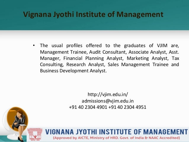 Vjim's ongoing placement for pgdm class 2015  2017 is worth the attention Slide 3