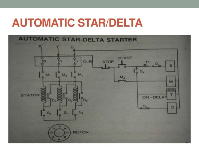 vk Motor Starter Control Wiring Diagram automatic star delta