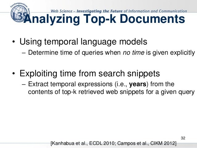 Document For Using Language Models Dating Temporal