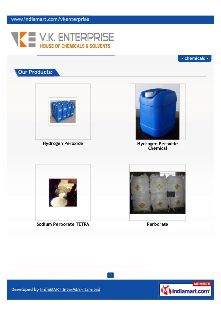 V. K Enterprises, Mumbai, chemicals. Slide 3