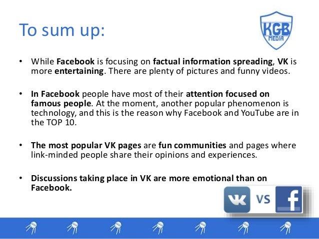 Vk Vs Facebook