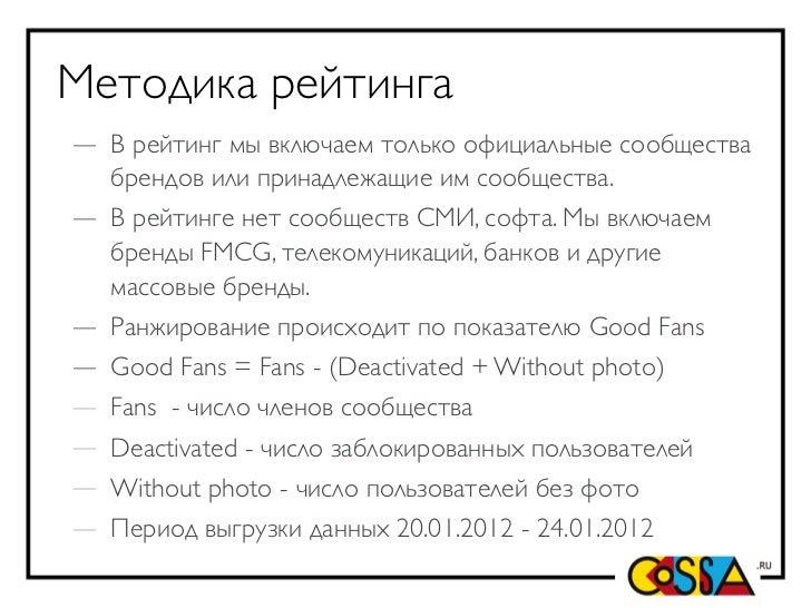 Топ-30 брендов ВКонтакте Slide 2