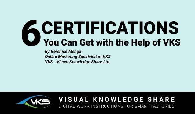 6 Certifications You Can Get With The Help Of Vks