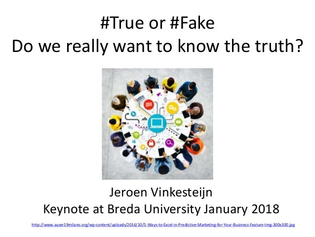 #True or #Fake Do we really want to know the truth? http://www.auser19milano.org/wp-content/uploads/2016/10/5-Ways-to-Exce...