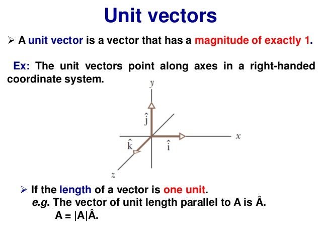 Vectors and Kinematics