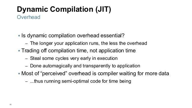 JVM JIT compilation overview b...