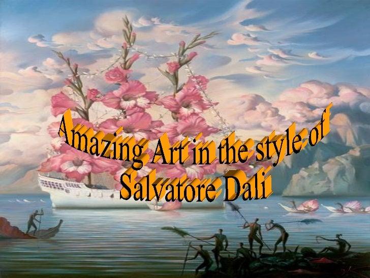 Amazing Art in the style of Salvatore Dali