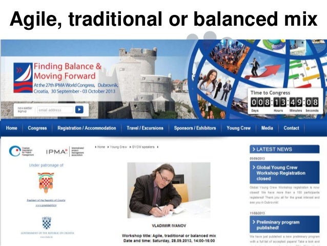 Agile, traditional or balanced mix  Mountain Goat Software, LLC