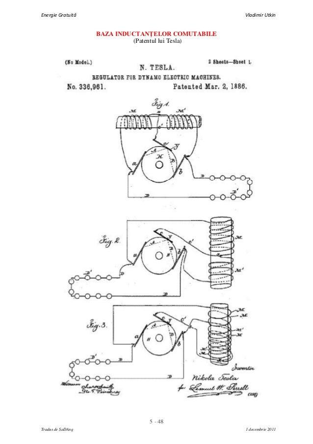 5 - 48Energie Gratuită Vladimir UtkinTradus de SaDAng 1 decembrie 2011BAZA INDUCTANŢELOR COMUTABILE(Patentul lui Tesla)