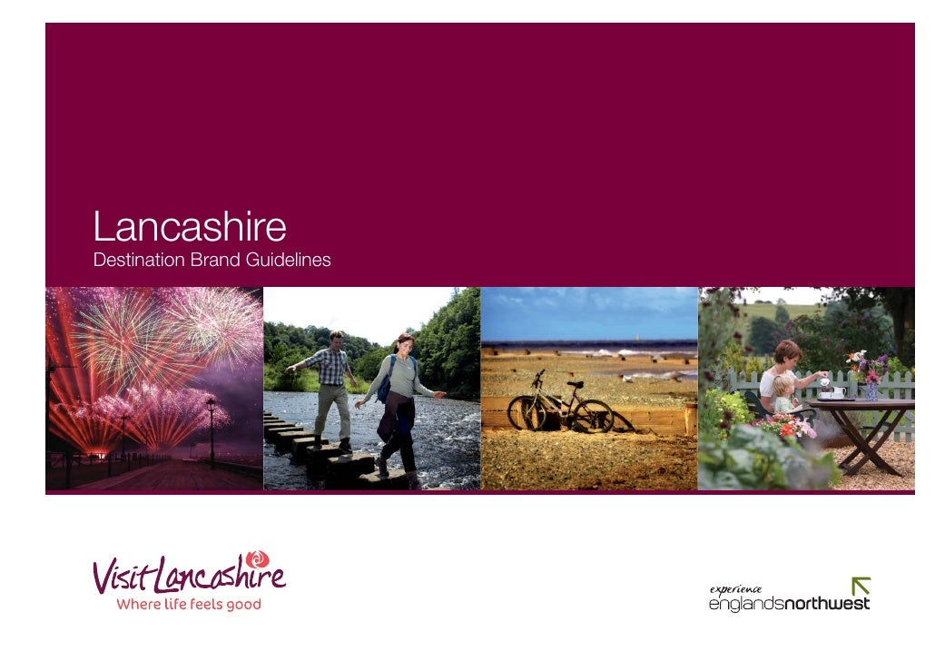 Lancashire Destination Brand Guidelines