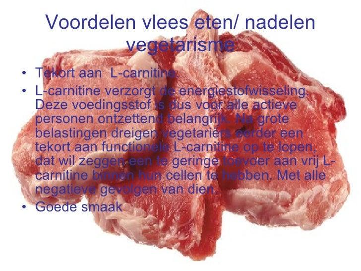 nadelen van vlees eten
