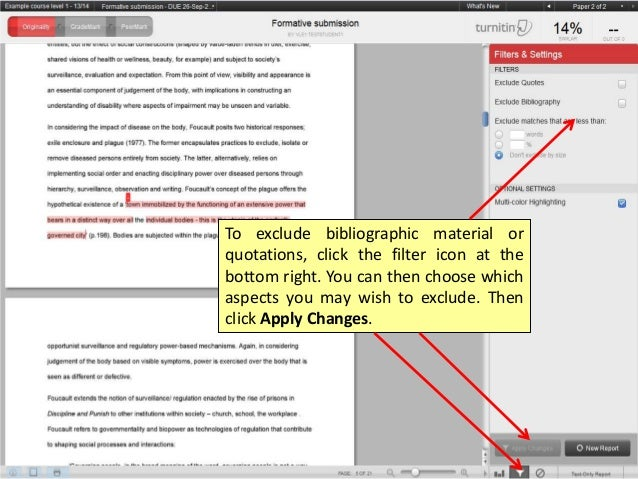 how to view turnitin originality report