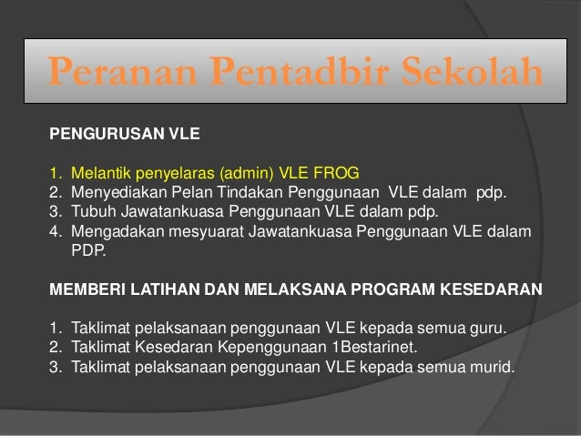 presentation bengkel vle untuk guru Slide 3
