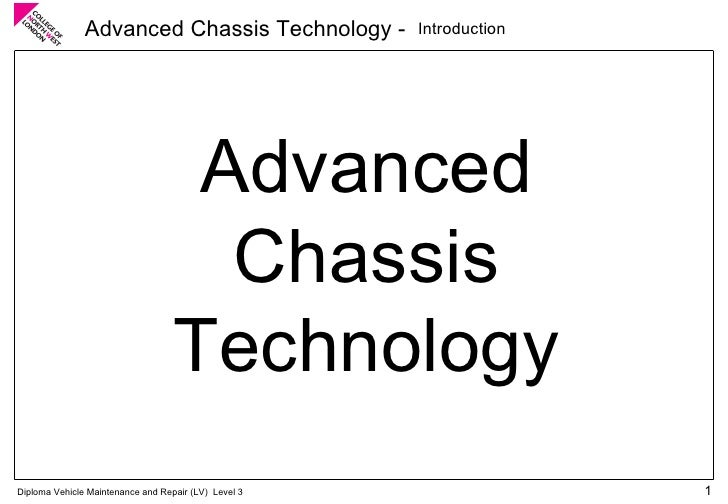 Introduction Advanced Chassis Technology