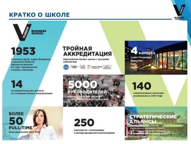 Европейское бизнес образование: подход global to local_И.Антонова_Vlerick Business School Slide 2