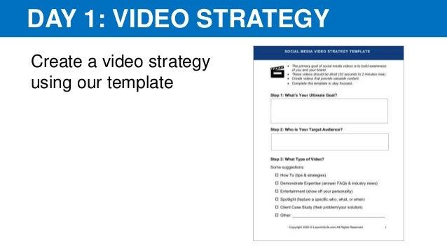 Video LinkedIn Challenge Roadmap: How to Create a Social Media Video for LinkedIn Slide 2