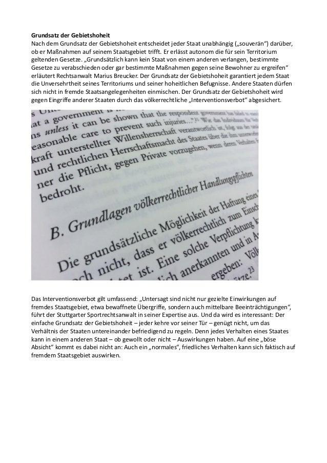 Völkerrechtliche Untersuchung zu Maßnahmen gegen Hooligangewalt Slide 2