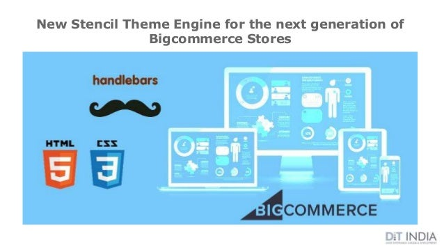 New Stencil Theme Engine for the next generation of Bigcommerce Stores
