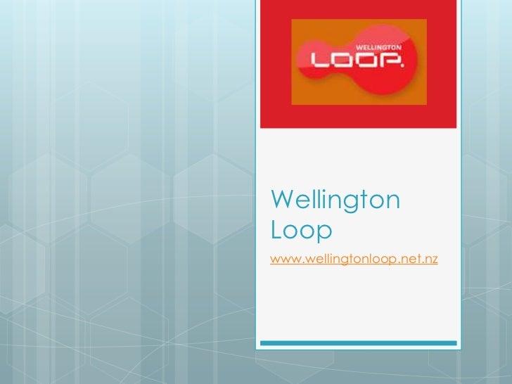 WellingtonLoopwww.wellingtonloop.net.nz