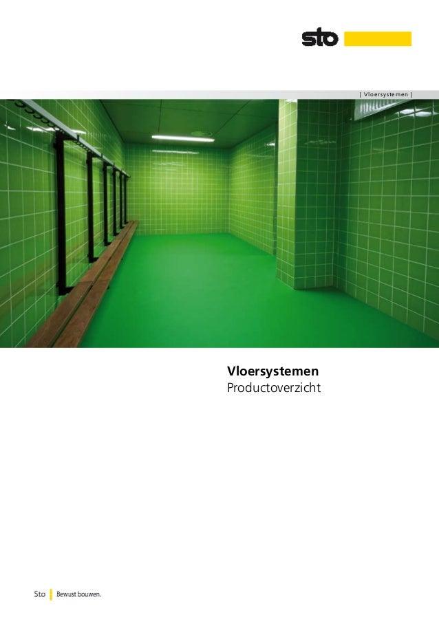 | Vloersystemen |  Vloersystemen Productoverzicht