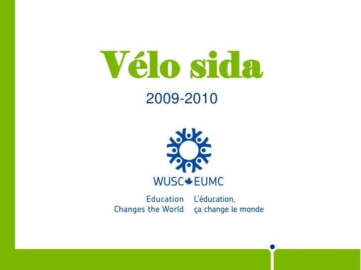 Vélo sida   2009-2010