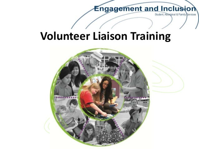 Volunteer Liaison Training