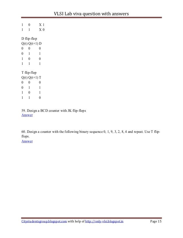 2918116b57cb0c Vlsi lab viva question with answers